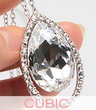 wholesale cubic zirconianecklace