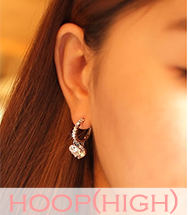 wholesale high-end hoop earring